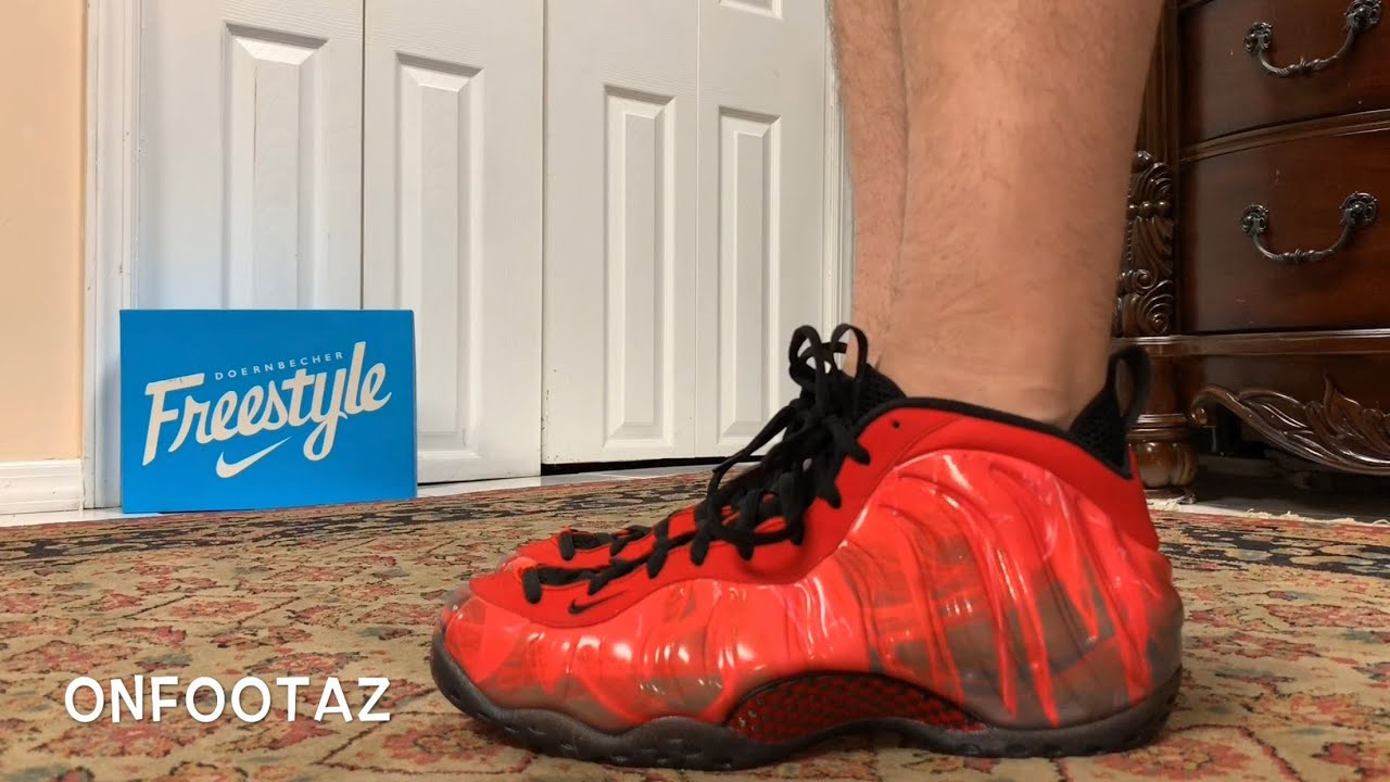 62f34c98ece Nike Air Foamposite One Doernbecher 2019 On Foot - YouTube