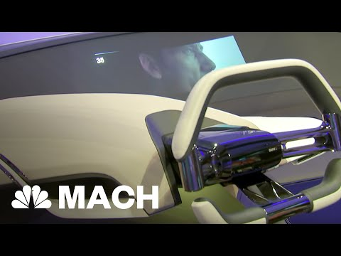 BMW Unveils Hologram Dashboard At CES | Mach | NBC News