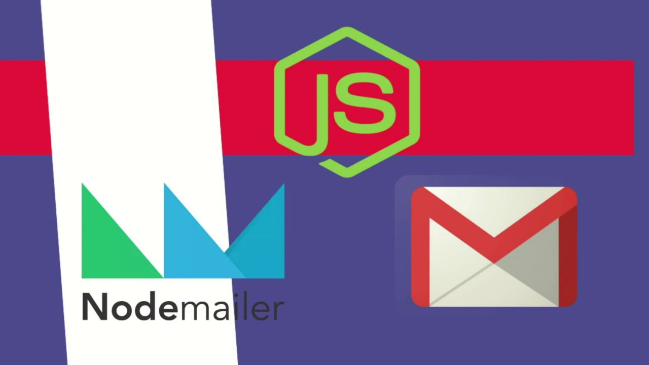 Nodejs Send Free Emails Using Nodemailer And Gmail Youtube