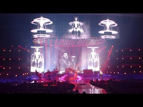 Queen + Adam Lambert - Radio Gaga - live - MGM Park Theater Las Vegas