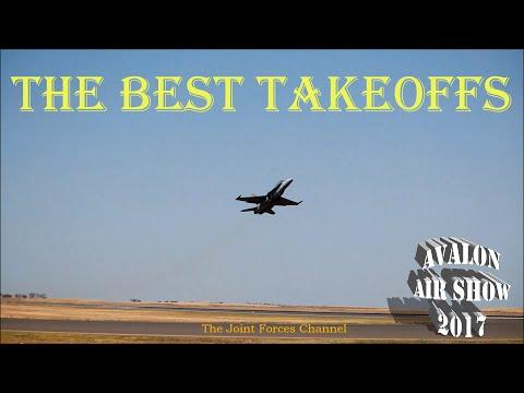 Best Takeoffs Of Avalon Airshow 2017