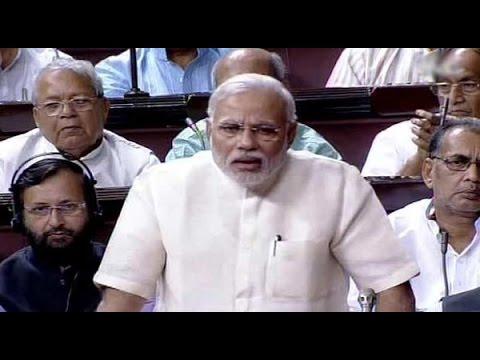 Narendra Modi speech in Lok Sabha | Budget 2015 | Opposition leaves speechless