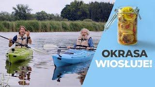 Wyprawa z Aleksandrem DOBĄ! 🛶 Okrasa na kajaku i rybne klopsy! 🐟 | Aleksander Doba & Karol Okrasa