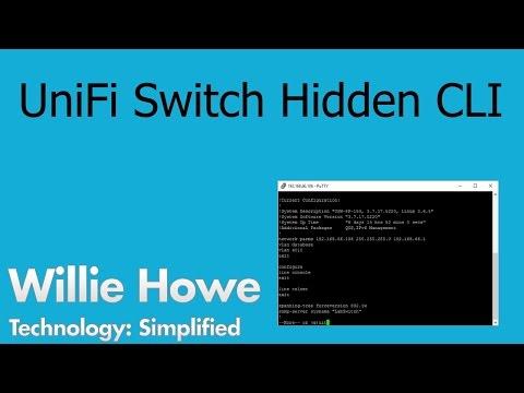 UniFi Switch Hidden Command Line