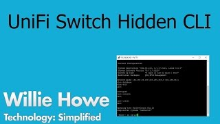 UniFi Switch Hidden Command Line
