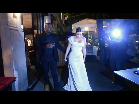 Kim Kardashian and Kanye West celebrate their 2nd wedding anniversary in Roma