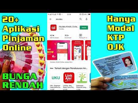 20 Aplikasi Pinjaman Online Langsung Cair Hanya Modal Ktp Tanpa