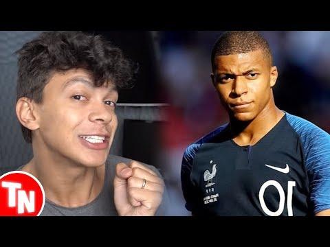 Júlio Cocielo é acusado de racismo após fazer piada com jogador francês