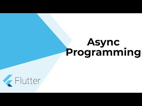 Flutter Advanced: Async Programming   Future   Async Await