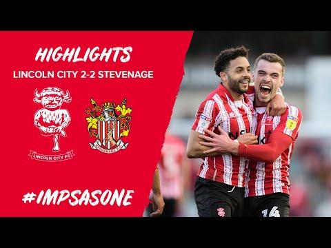 Lincoln City v Stevenage