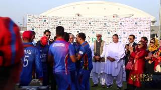 G P Cup 2017 Winner - Afghanistan cricket team, Runner - Ireland at Greater Noida Stadium, India