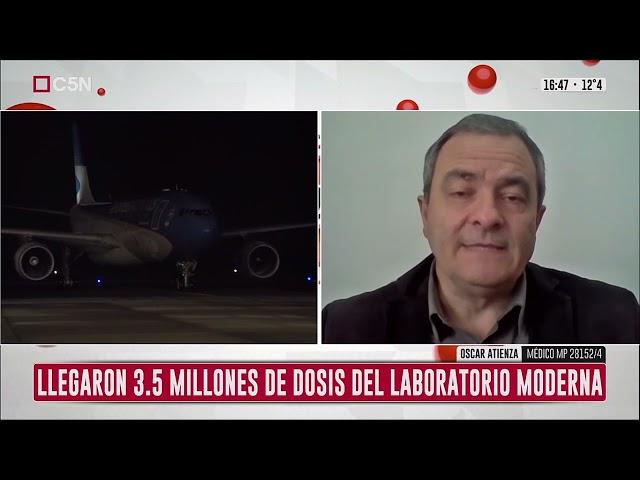 Dr. Oscar Atienza en C5N - Anticuerpos e Inmunidad   18/07