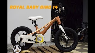 Обзор магниевого детского велосипеда ROYAL BABY DINO 14