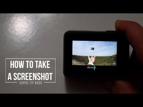 GoPro: How To Take ScreenShot On Hero5 Black - GoPro Tip #605   MicBergsma