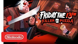 Friday the 13th: Killer Puzzle - Launch Trailer - Nintendo Switch