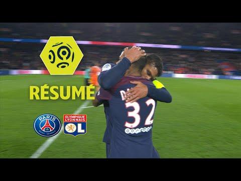 Paris Saint-Germain - Olympique Lyonnais (2-0)  - Résumé - (PARIS - OL) / 2017-18