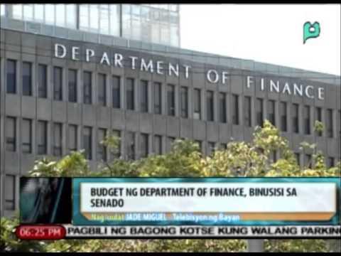News@6: Budget ng Department of Finance, binusisi sa senado || Sept. 15, 2015