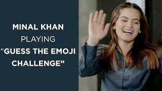 "Minal Khan Playing ""Guess The Emoji Challenge"" | FUCHSIA"