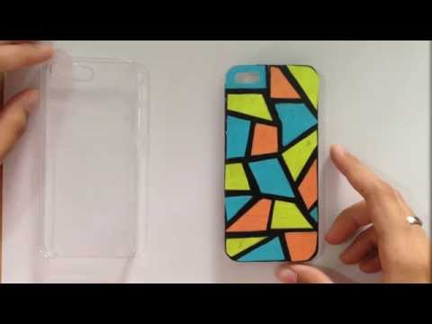 Colourblock Phonecase - Washi Tapetorial
