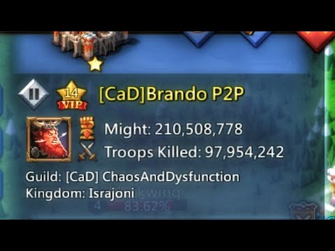 Lords Mobile - Brando P2P?!? Let Me Quickly Explain