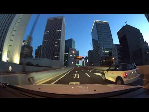 Tokyo expressway night drive 4K SONY 首都高 2017