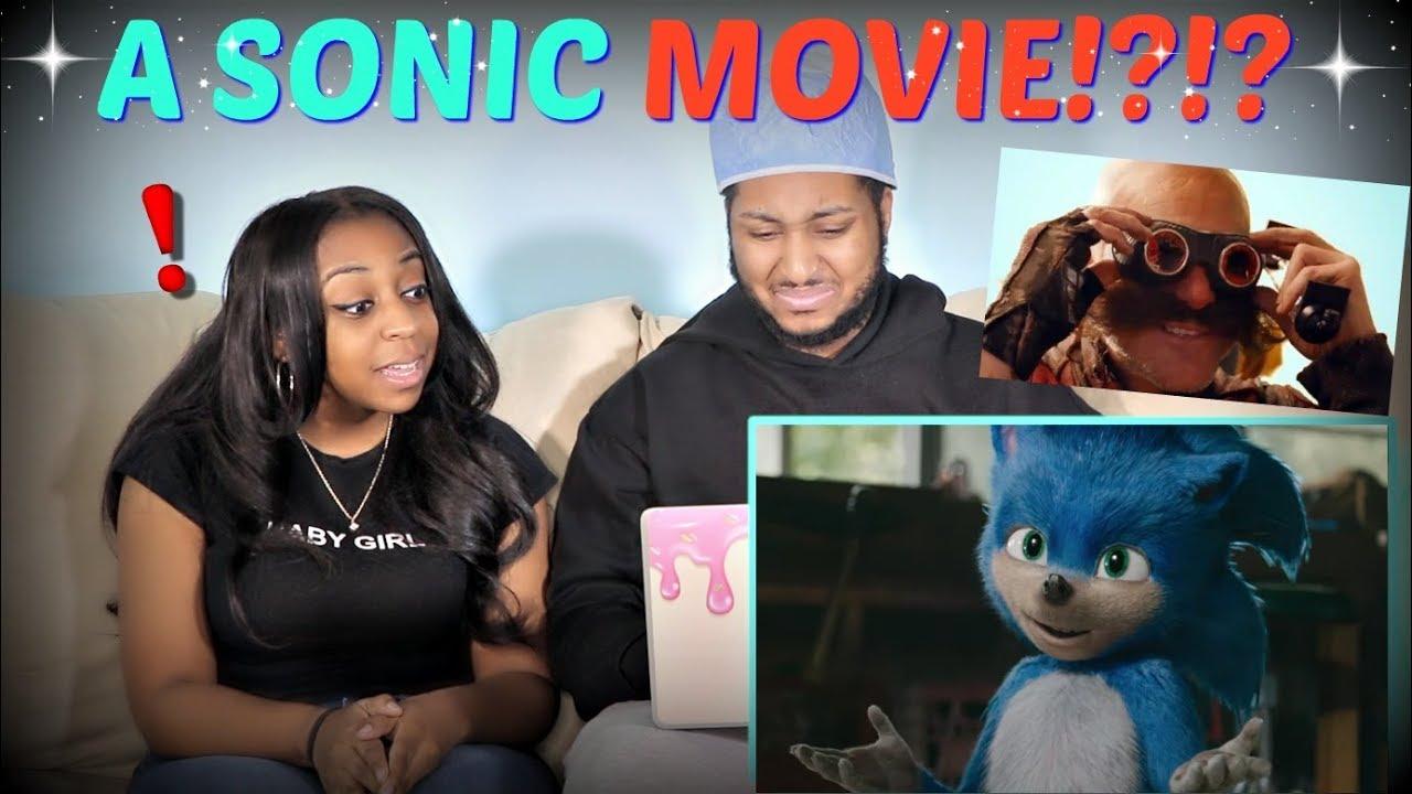 Sonic The Hedgehog Trailer 1 2019 Reaction