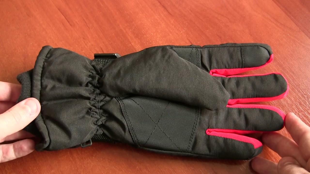 Зимние перчатки с Алиэкспресс Обзор