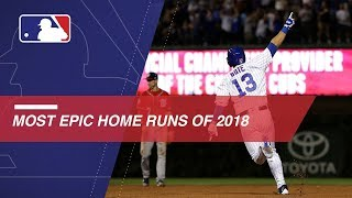Most Epic Home Runs of 2018