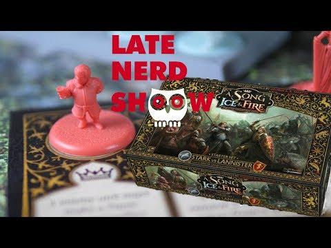 Late Nerd Show 217: Lied von Eis und Feuer: Das Tabletop und Hexen-Graphic Novel