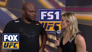 Laura Sanko talks with Derrick Lewis | INTERVIEW | UFC FIGHT NIGHT