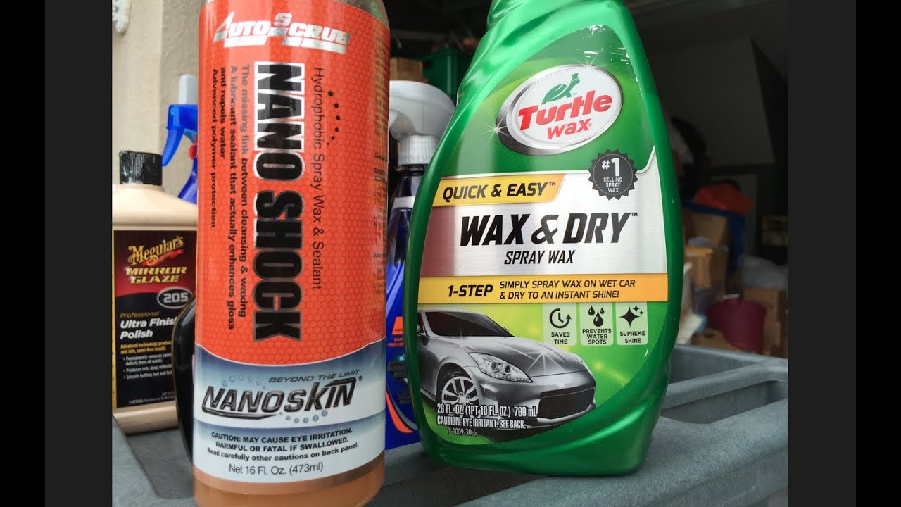 Turtle Wax Wax And Dry Review