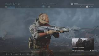 Call of duty modern warfare | SA87 level 25 perk  Beta XBox One X