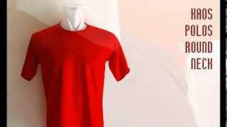 Baju Kaos Polos Oblong Lengan Pendek Pria Wanita Grosir Murah Bukan Gildan