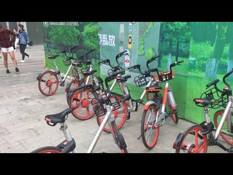 bike rent service in China
