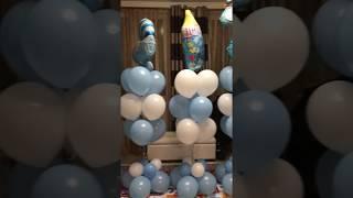 видео Воздушные шары на выписку из роддома