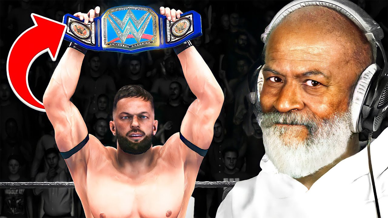 WWE 2K20 But The Video Ends When Finn Balor Wins A Title!