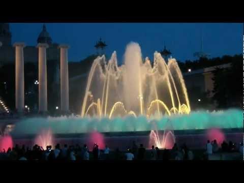 La Fontana Magica di Montjuic - Barcellona 2012