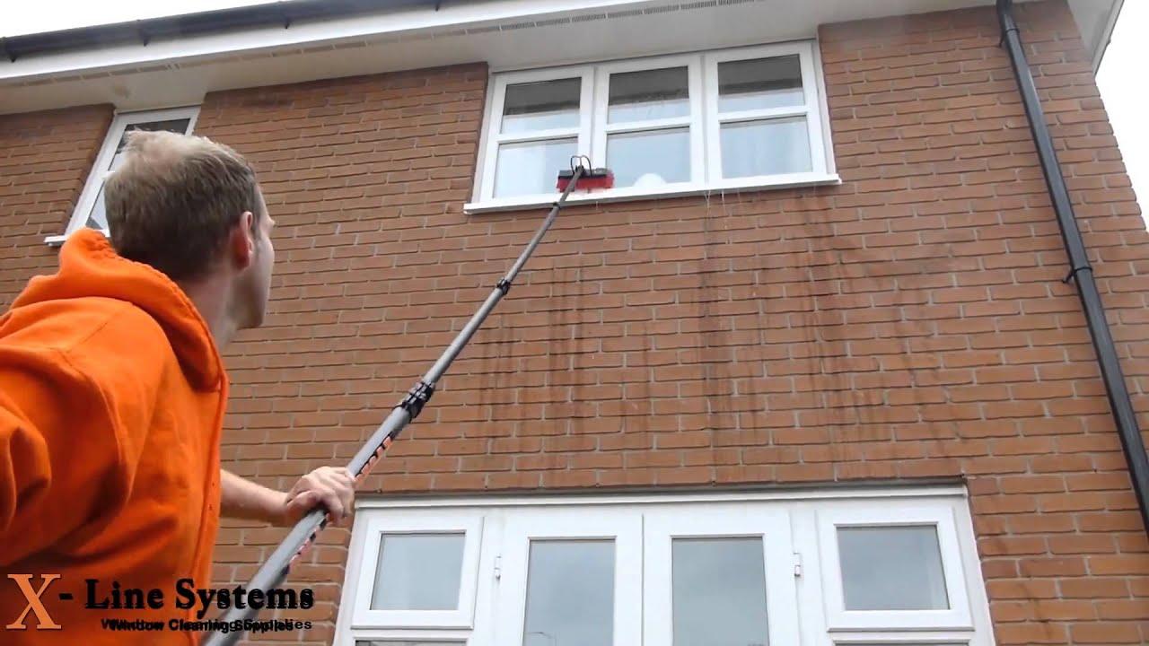 P rtigas telesc picas para limpieza de cristales en altura - Trabajo de limpieza en casas ...