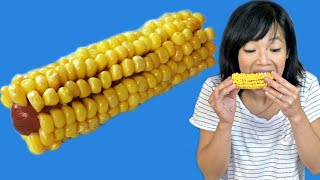 How to Make Jenna's Corn on the Cob But Instead of a The CORN BONE It's A HOT DOG | Weenies