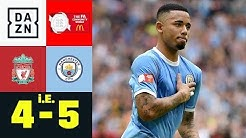 Man City feiert ersten Saisontitel: Liverpool - Man City 4:5 i.E. | FA Community Shield | DAZN