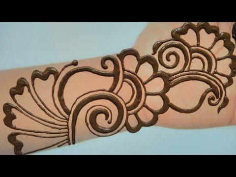 Arabic Mehndi Design For Full Hand Easy Simple Mehndi Design Mehndidesigns Mehendi 2020 Youtube