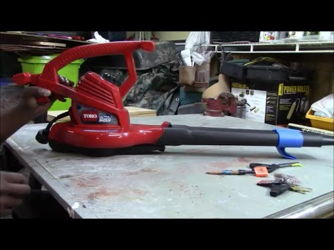 Diy Gutter Leaf Blower Modify A Toro Ultra Plus Leaf