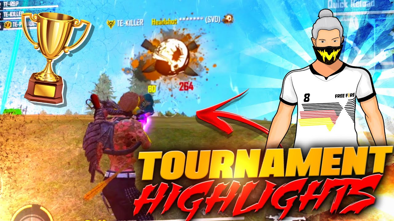 TOURNAMENT HIGHLIGHTS BY KILLER FF || INSANE MOMENTS IN TOURNAMENT