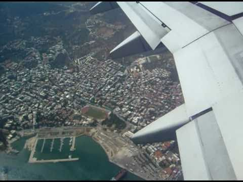 Transavia Boeing 737 Take Off Lesbos Mytilini MJT - Greece