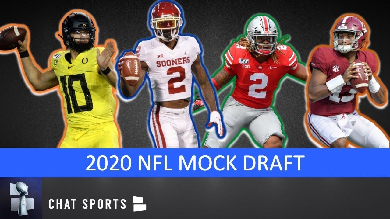 latest nfl mock draft 2020