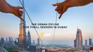 XLINE DUBAI at Burj Khalifa - Iphone 6S+ G4 Pro Gimble