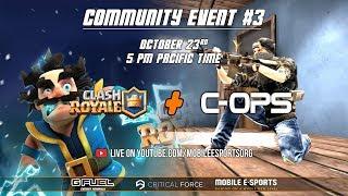 Critical Ops & Clash Royale: Community Event #3 - Teaser Trailer