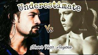 Underestimate by Geeta Zaildar | Karan Aujla | Wwe Roman Reigns Punjabi Fight | Punjabi Wwe