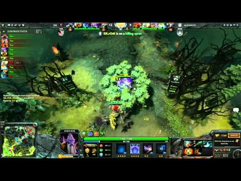 Alliance vs DK Round 2B 2 of 3   English Commentary