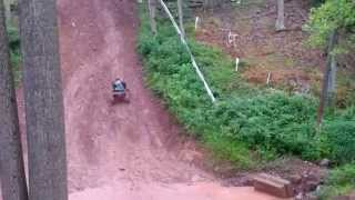 Dirt Bikes, ATVs, and UTVs on the hill climb stage of the Line Mountain 3 1/2 Miler.  In 4K!